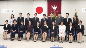 夜間部卒業式